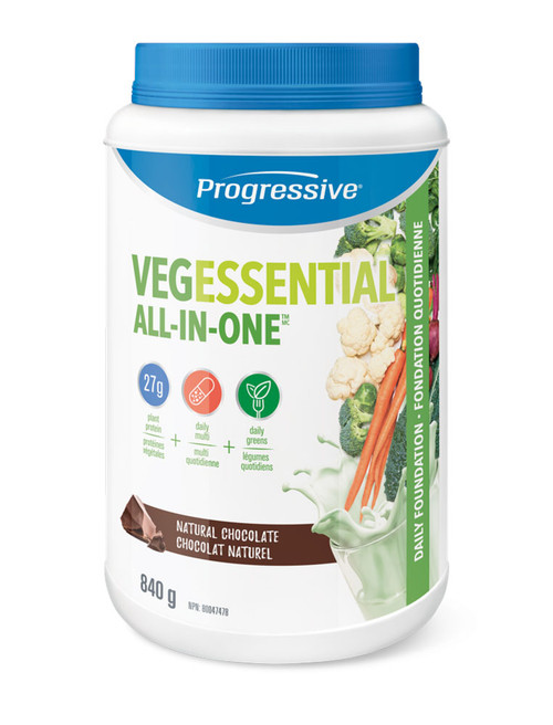 Progressive: VegEssential All-in-One - Chocolate (840g)