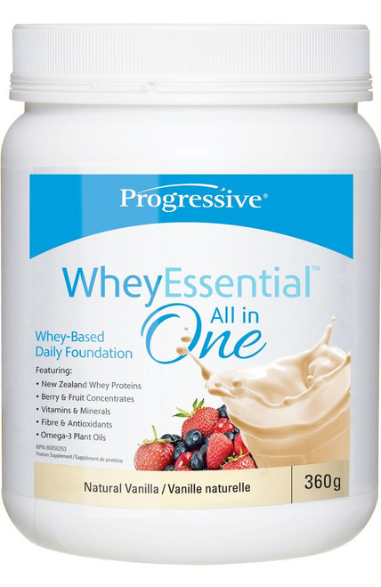 Progressive: WheyEssential All in One - Natural Vanilla (360g)