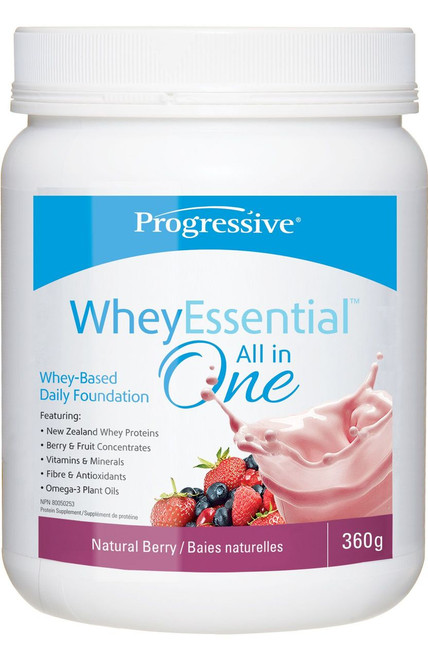 Progressive: WheyEssential All in One - Natural Berry (360g)