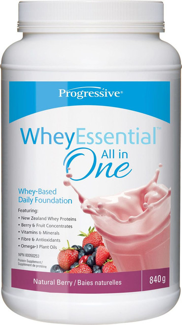 Progressive: WheyEssential All in One - Natural Berry (840g)