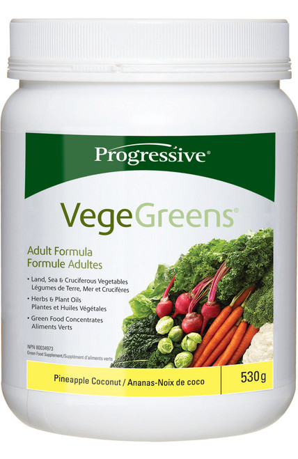 Progressive: VegeGreens - Pineapple Coconut (530g)