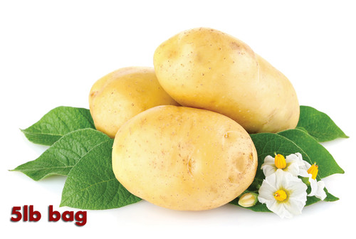 Certified Organic Yellow Potatoes 5lbs. (2.27kg bag)