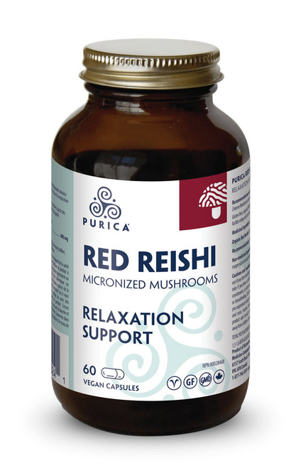 Purica: Red Reishi (60 VCaps)