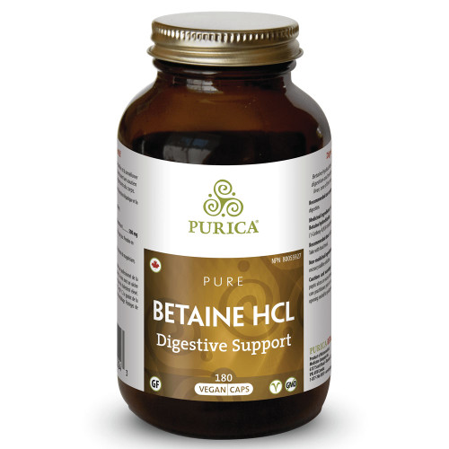 Purica: Betaine HCL (180 VCaps)