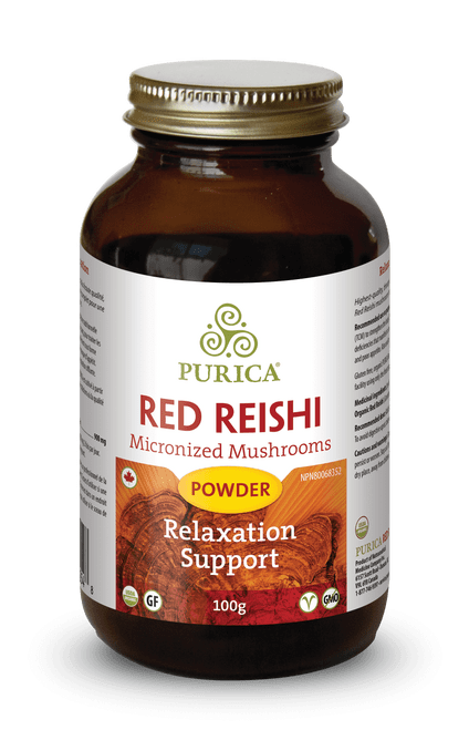 Purica: Red Reishi Powder (100g)