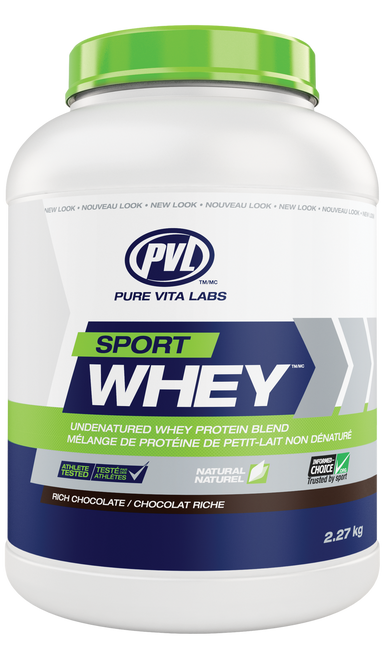 PVL Sport Whey - Rich Chocolate (2.27kg)