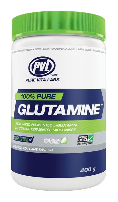 PVL 100% Pure Glutamine - Unflavoured (400g)
