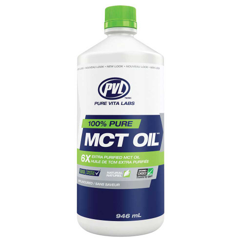 PVL 100% Pure MCT Oil - Unflavoured (946ml)