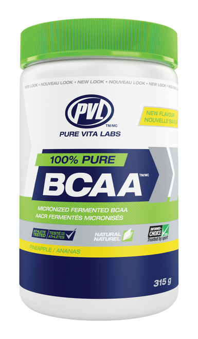 PVL 100% Pure BCAA - Pineapple (315g)