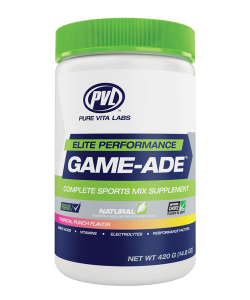 PVL: Game-Ade - Tropical Punch Flavour (420g)