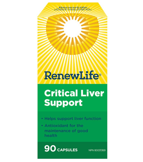 Renew Life: Critical LIVER Support (90 VCaps)