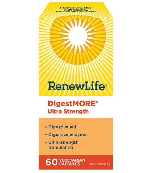 Renew Life: DigestMORE Ultra Strength (60 VCaps)