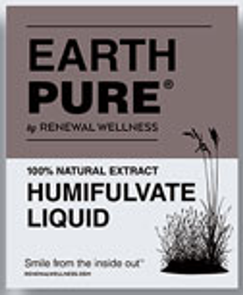 Renewal Wellness: Earth Pure 100% Natural Extract Humifulvate Liquid with Tract Minerals (600mg) (500ml)