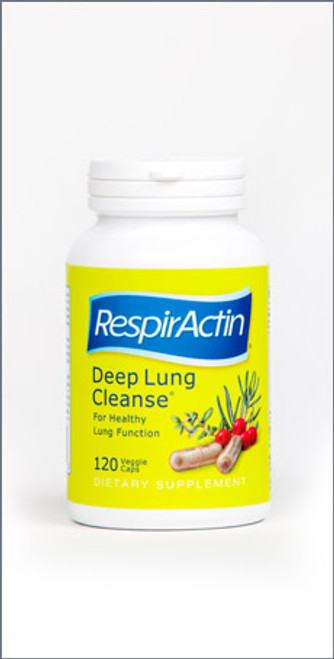 RespirActin: Deep Lung Cleanse (60 Veggie Caps)