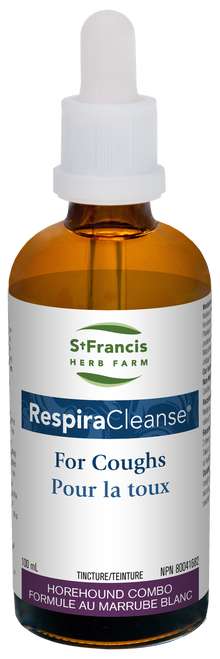 St. Francis: RespiraCleanse (100ml)