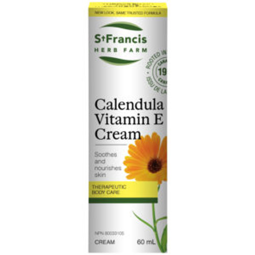 St. Francis: Calendula Vitamin E Cream (60ml)