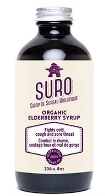Suro: Organic Elderberry Syrup (236ml)