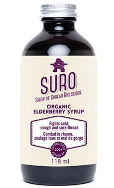 Suro: Organic Elderberry Syrup (118ml)