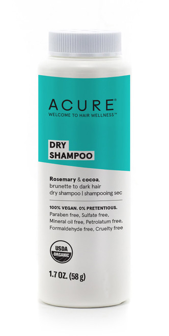 Acure: Dry Shampoo (brunette to dark hair) (48g)