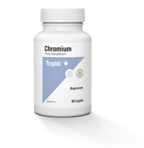 Trophic: Chromium Plus Vanadium (90 Caplets)