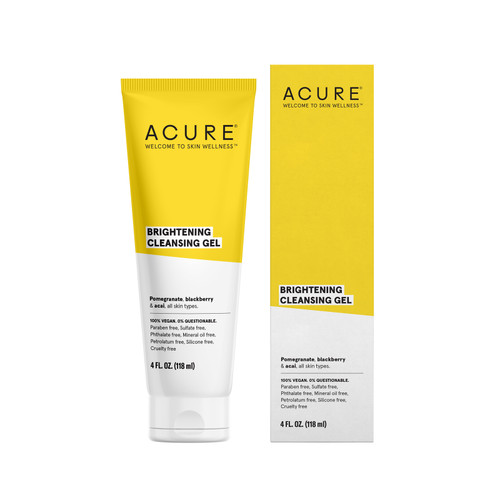 Acure: Brilliantly Brightening Cleansing Gel  (118ml)