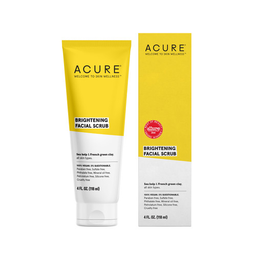 Acure: Brilliantly Brightening - Facial Scrub (118ml)