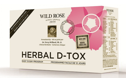 Wild Rose: Herbal D-Tox (12 Day Program)