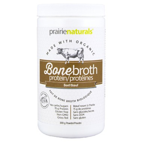 Prairie Naturals: Grass Fed Beef Bone Broth (300g)