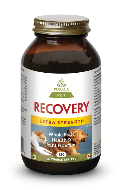 Purica: Recovery SA (For PETS) Extra Strength (120 Chewable Tablets)