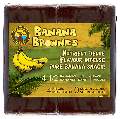 Ipanema: Banana Brownies (4 Pieces/120g)