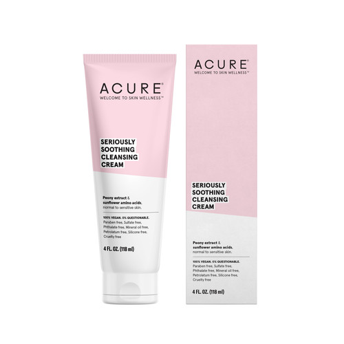 Acure: Seriously Soothing Cleanser Cream (118ml)