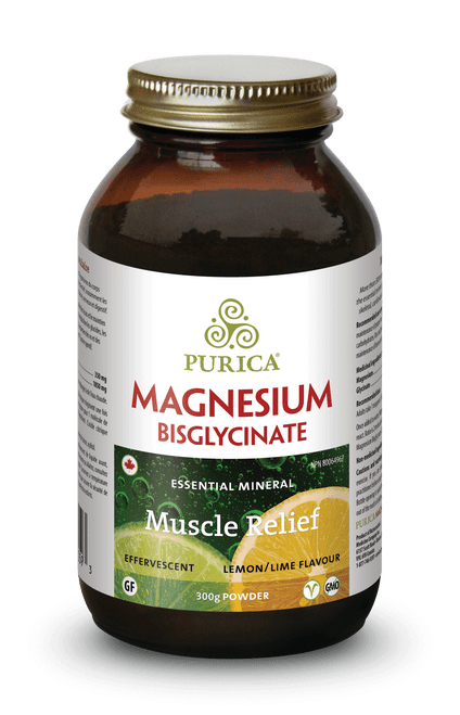 Purica: Magnesium Bisglycinate - Lemon Lime