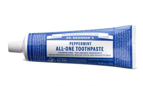 Dr. Bronner's Magic Soap: All One Toothpaste - Peppermint (140g)