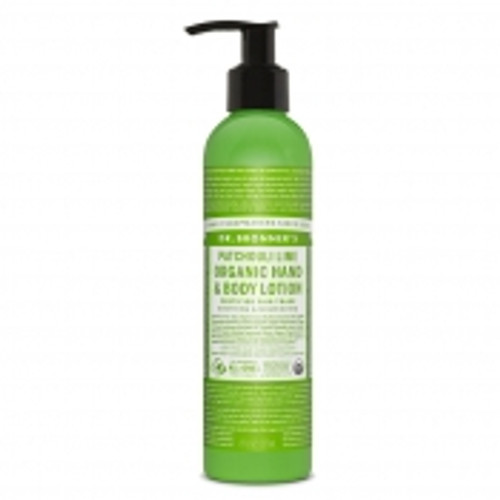 Dr. Bronner's Magic Soap: Patchouli Lime Organic Hand & Body Lotion (237ml)
