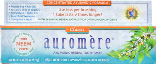 Auromere: Ayurvedic Herbal Toothpaste - Classic