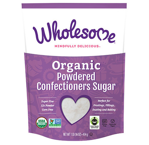 Wholesome: Organic Powdered Sugar (454g)