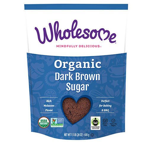 Wholesome: Organic Dark Brown Sugar (680g)
