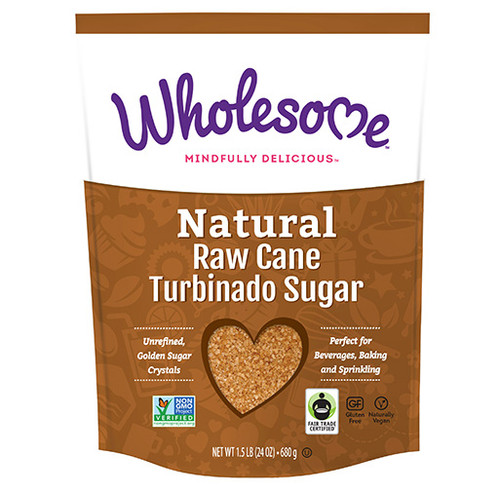 Wholesome: Natural Raw Cane Sugar (680g)