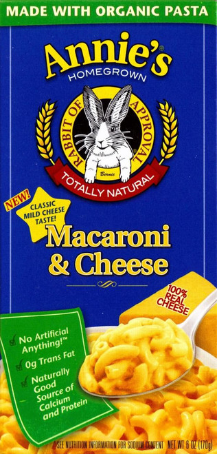 Buy Macaroni & Cheese from Annie's Homegrown (170g)