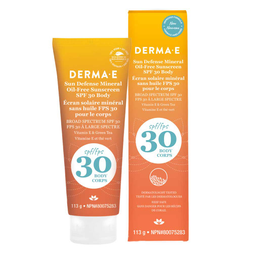 Derma E: Natural Mineral Sunscreen SPF 30 - Body (113g)