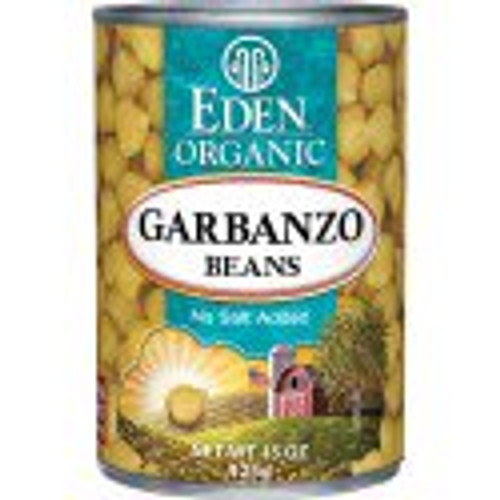 Eden: Organic Garbanzo Beans (398ml)