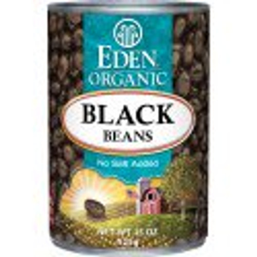 Eden: Organic Black Beans (398ml)