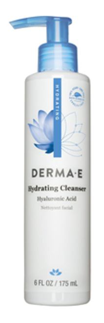 Derma E: Hydrating Cleanser with Hyaluronic Acid (175ml)