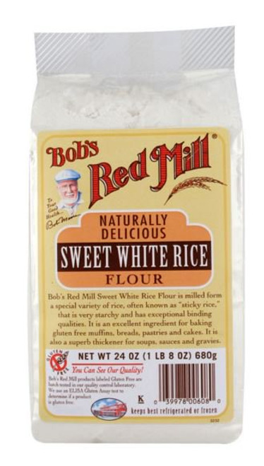 Bob's Red Mill: Gluten Free Sweet White Rice Flour (680g)