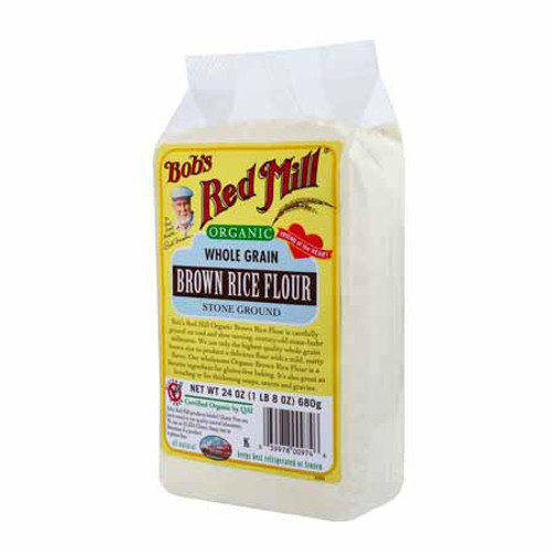Bob's Red Mill: Organic Gluten Free Brown Rice Flour (680g)