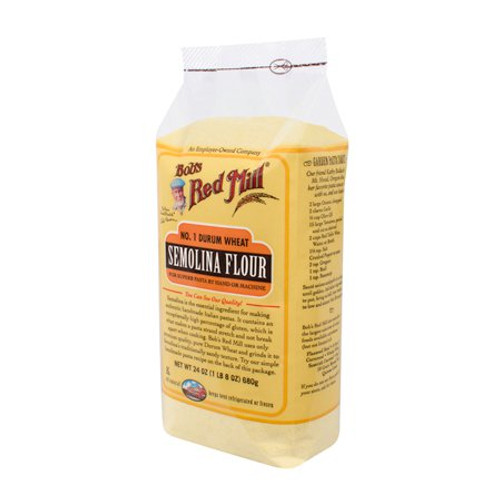 Bob's Red Mill: No 1 Durum Wheat Semolina Flour (680g)