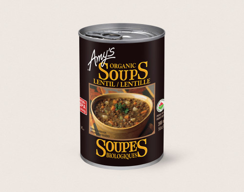 Amy's Kitchen: Lentil Organic Soup (398ml)