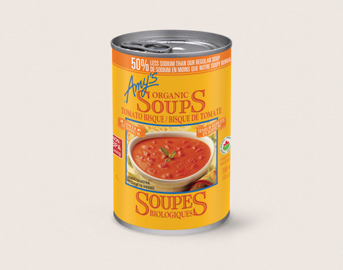 Amy's Kitchen: Low Sodium Tomato Bisque Soup (398ml)