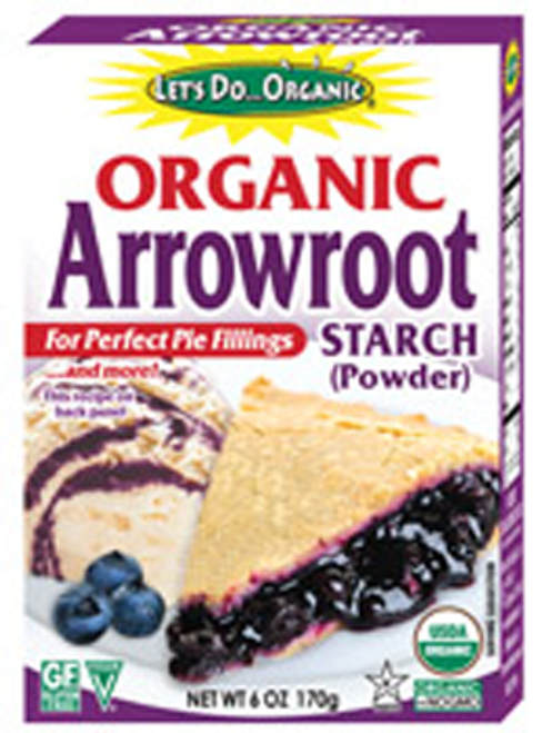 Let's Do Organic: Organic Arrowroot Starch (Powder) (170g)