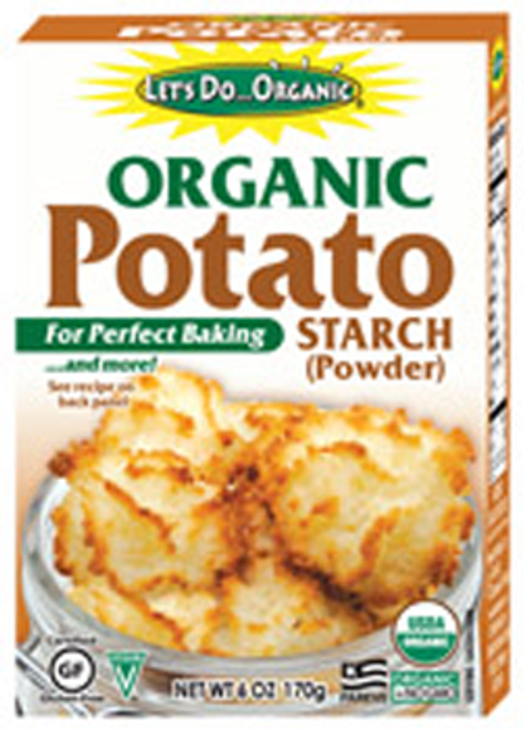 Let's Do Organic: Organic Potato Starch (Powder) (170g)
